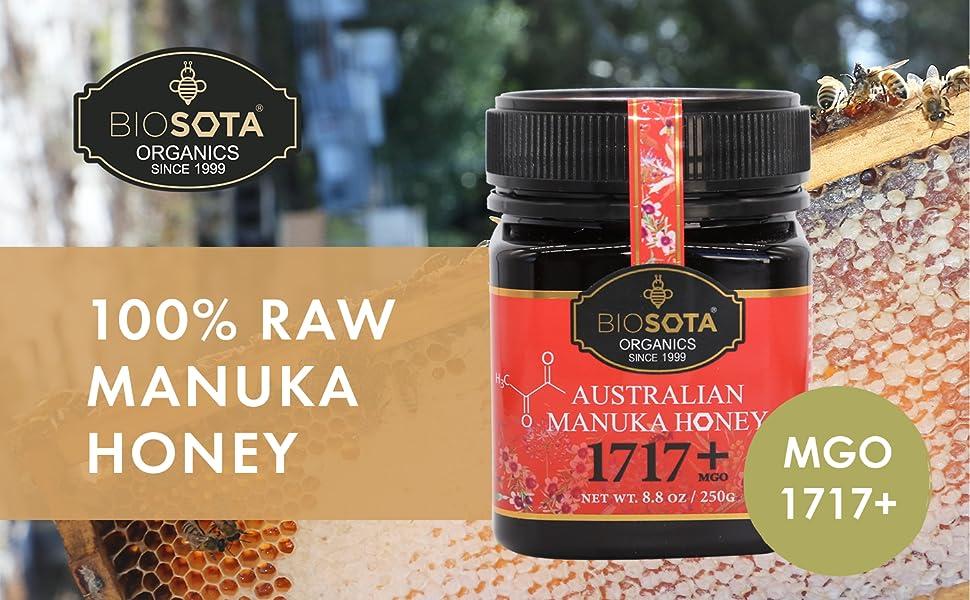 Strongest Manuka Honey MGO 1717+