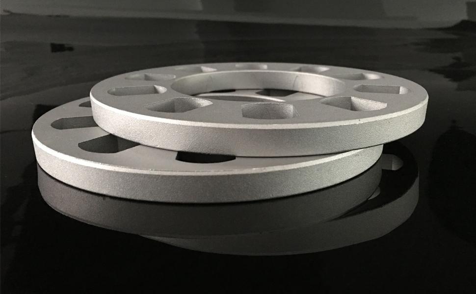 dynofit 2pcs 12mm Universal Wheel Spacers for 5x108mm 5x110 5x112 5x114.3mm 5x4.25 5x115mm 5x120.65 1//2 108-130 PCD 5 Lug Nuts//Bolts Wheels 5 x 4.75 5x120mm 5x127mm 5 x4.5 5x 5 5x130mm