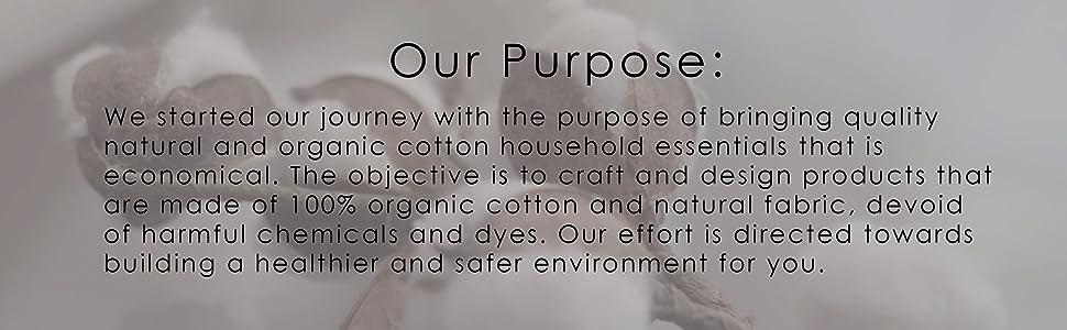 Organic Cotton White Pillowcase
