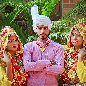 Indian States &  Dances, Kashmiri, Bihu, Haryanvi, Rajasthani, Gujarati, Marathi, Bengali