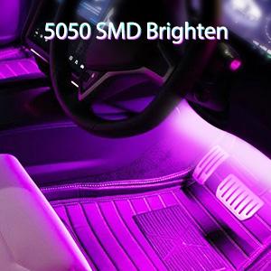 Adjust the brightness of car interior led lights