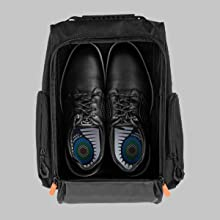 Spacious 9(W) x 14(L) x 7(H) inch capacity for shoes up to size 14