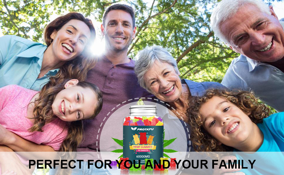 PROTKFU HEMP GUMMIES SUITABLE FOR YOUR WHOLE FAMILY