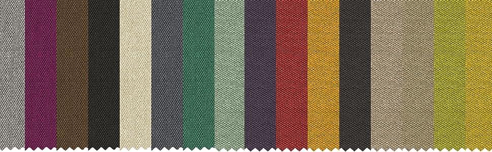 Lit licia en maillet couleurs tissu