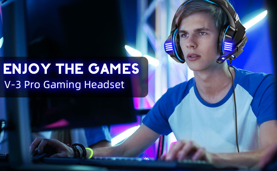 gaming headset for ps4 xbox 1 pc