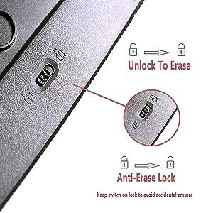 Erase Lock