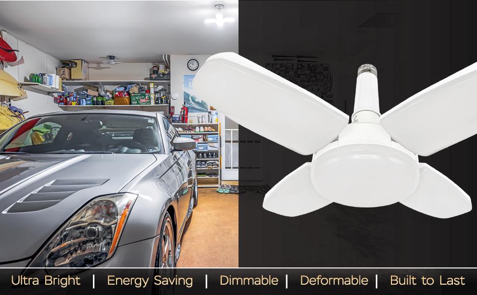 Uplift Lighting 6000 lúmenes de luz LED deformable Descripción principal imagen