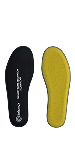 Cómodas Knixmax Plantillas Memory Foam Para Zapatos De Mujer Y Hombre 36 41eu Senderismo Plantillas Confort Amortiguadoras Cómodas Y Flexibles Para Trabajo Deportes Caminar Zapatos Y Complementos Brandknewmag Com