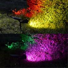waterproof solar  lights landscape lighting