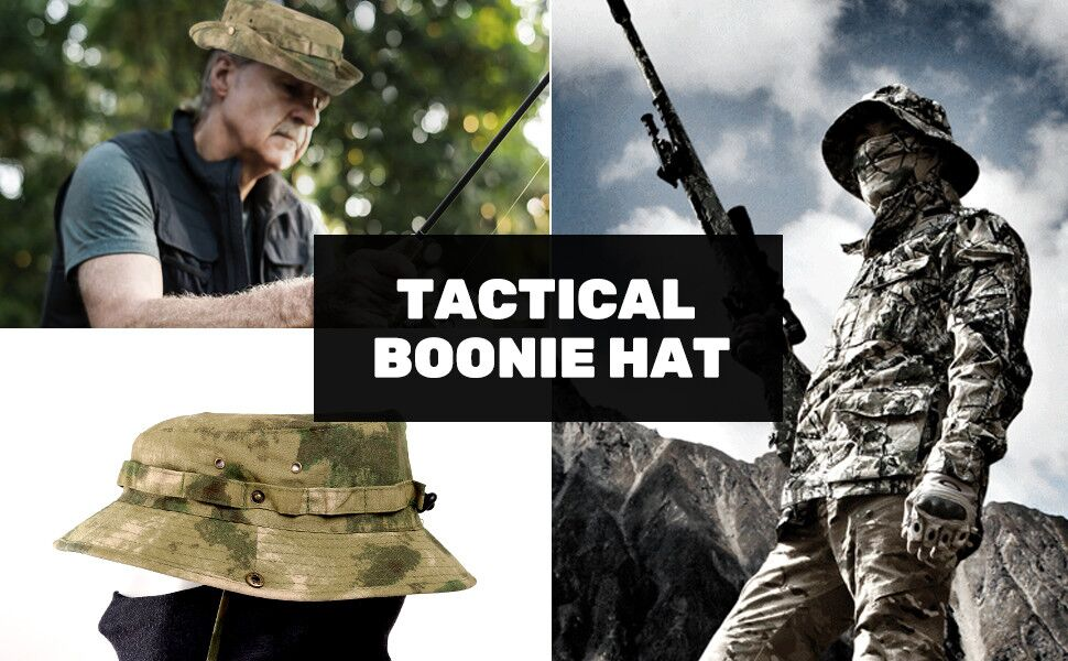 tactical bonnie fishing hunting military hat cap