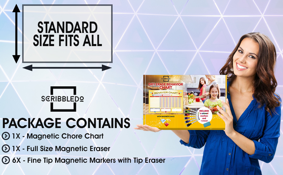 amazing quality chore chart housework gets done full size magnetic eraser fine tip magnetic marker