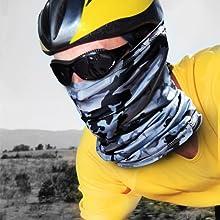 neck scarf mask for men snood face mask ohio state face mask neck gaiter loops cooling neck gaiter