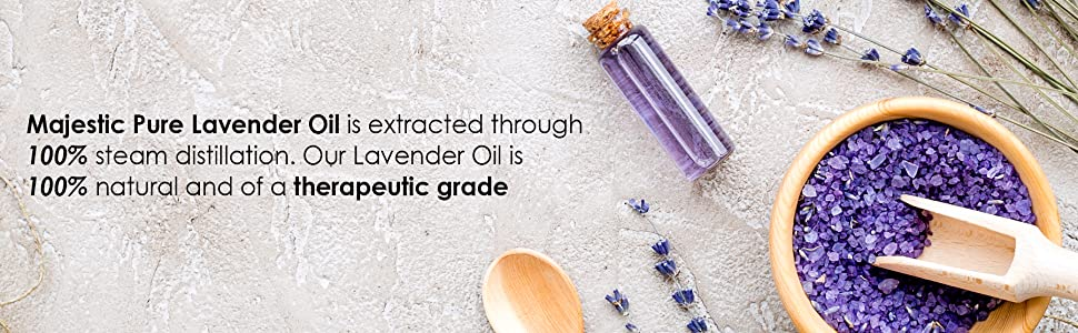 majestic pure lavender oil France Bulgaria pure natural therapeutic grade top best aromatherapy
