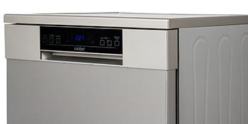 Sauber - Lavavajillas 60cm SDW61I A++ 15 cubiertos - Acero ...