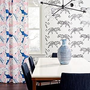 Dining Room Tiger Wallpaper