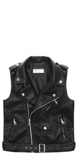 Kids leather vest