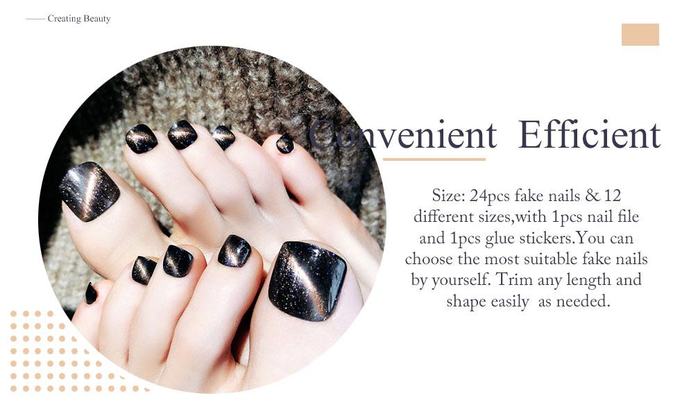 Clip on Foot Nail