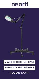 "5"" Bifocal Lens (5 Diopter & 20 Diopter) Floor Lamp"