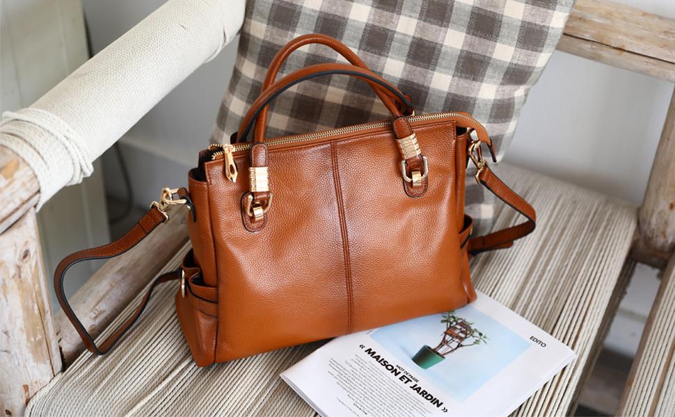 Women's Soft Leather Hobo Bag for Women Large, Shoulder Bag, Women Handbag, Top Handle Tote