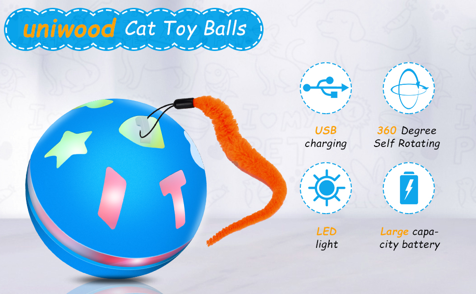 Interactive Cat Toy Ball