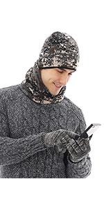 winter camo hats for men