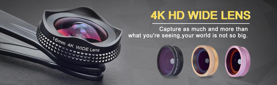 HD Wide angle lens
