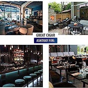 ashtray, cigar ashtray, ashtrays for cigars, outdoor ashtray, ashtray for patios, home cigar