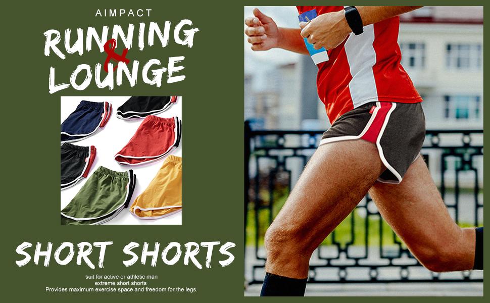 RUNNING short shorts 3 inch for men