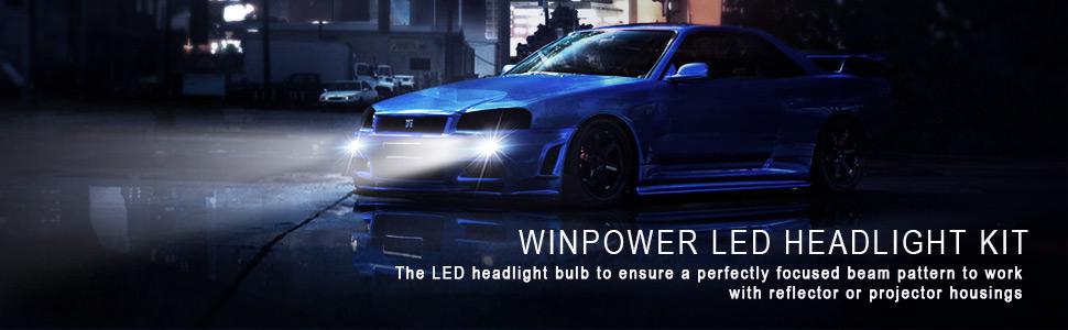 h1 led headlight bulb