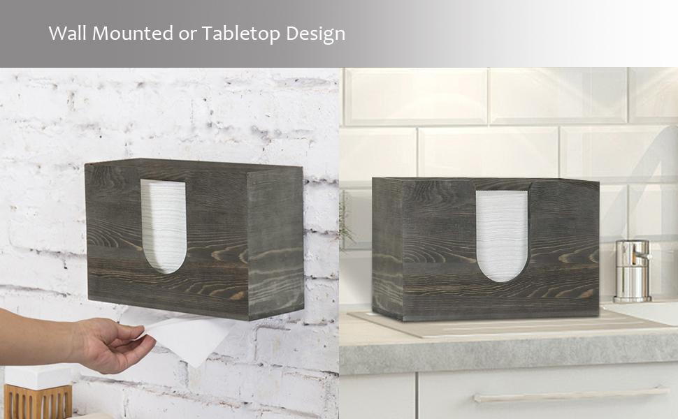 wall mounted bathroom paper towel dispenser multi-fold paper towel tray holder bath folded napkin