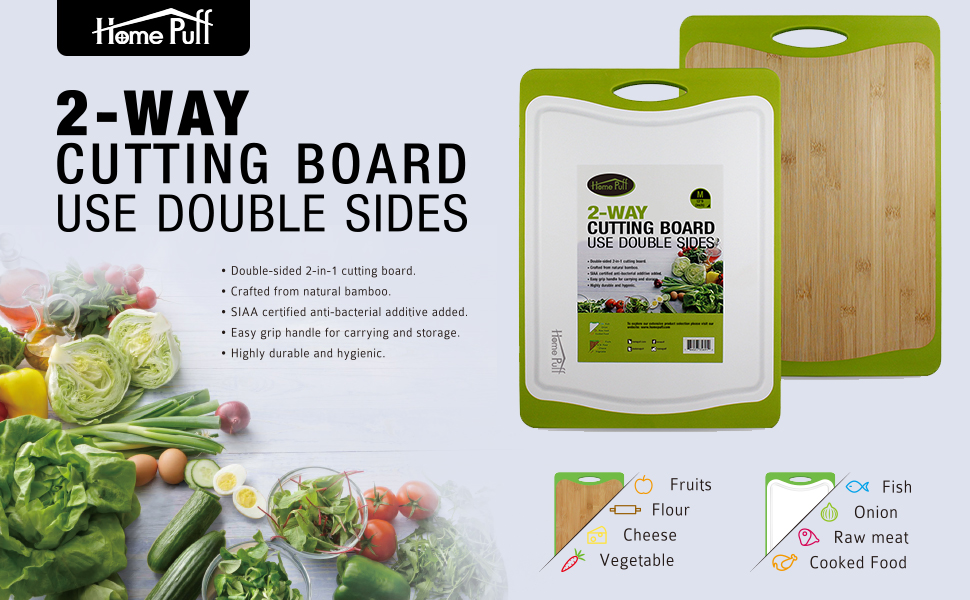 HomePuff Chopping Board Banner