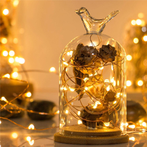 string hanging led fairy lights for home decoration bedroom battery operated garden indoor outdoor