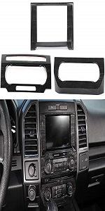 Navigation amp; Central Console Air Conditioning amp; Audio Volume Switch Panel for Ford F150 2015-2018