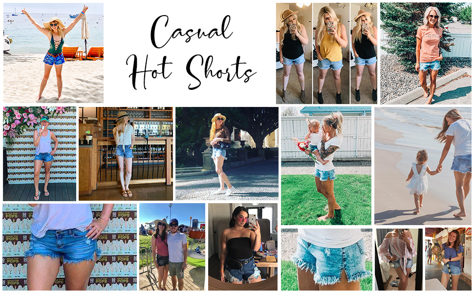 casual hot denim shorts 2020