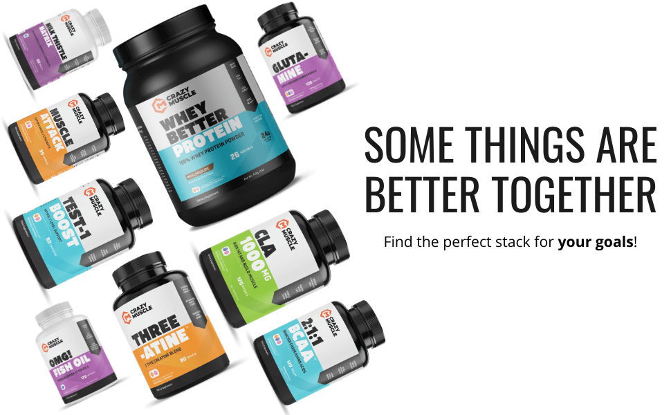 Find the PERFECT Supplement Stack based on YOUR GOAL