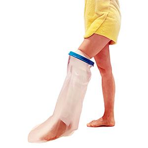 leg cast cover for shower waterproof protector tube broken leg foot sock plastic waterproof