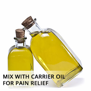 clove essential oil mix with carrier oil for pain relief, joint pain and good health