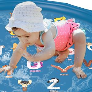 Splash mat 1 2 3 4 5 year old boys