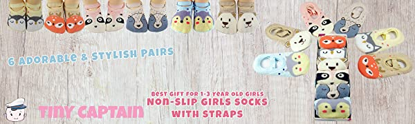 non slip grip socks for toddler girls 1-3 year old girl age 1 socks age 2 12-24 months baby gifts