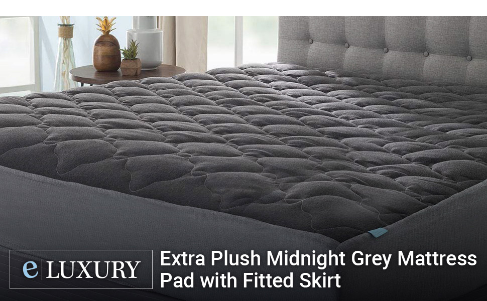 Grey Mattress Pad