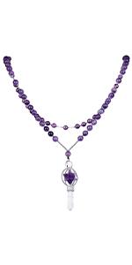 Merkaba Beaded Necklace