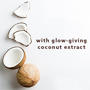 coconut extract highlighter clean cheekbone highlighter Strobbing powder