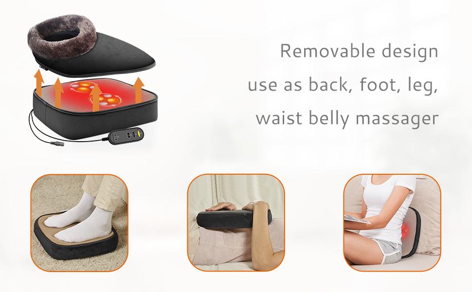 multifunction back foot leg massager