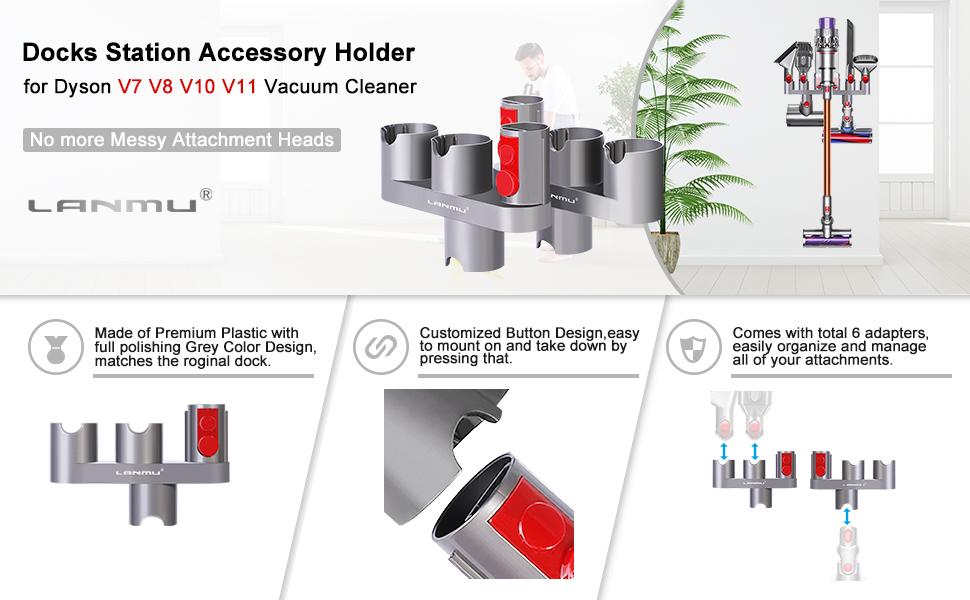 Attachments Holder for Dyson V11 V10 V8 V7 Vacuum Cleaner