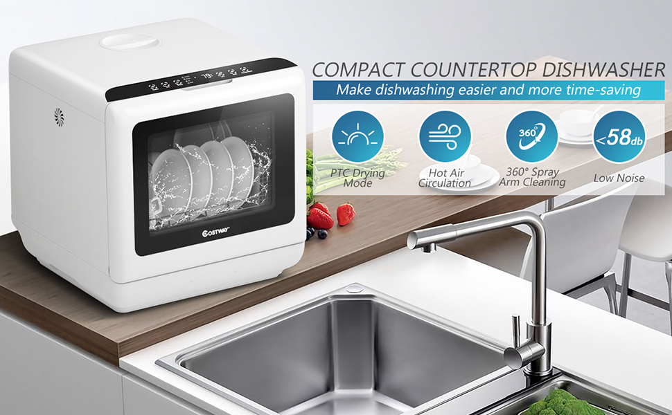 portable countertop dishwasher