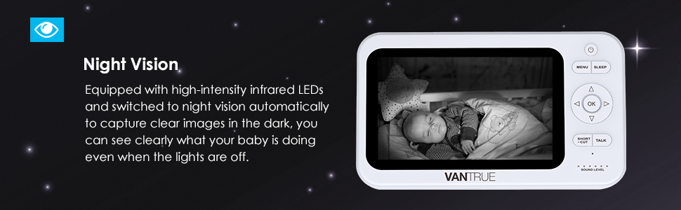 baby monitor with night vision