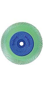Radial Bristle Discs