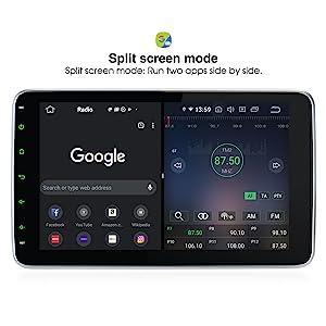 adjustable 10.1 touchscreen