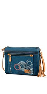bolsa bag cartera hombro mano shopper tote trabajo juveniles bowling retro hippie autentica fiesta