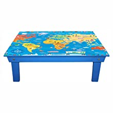 blue bed study table enigmatic woodworks